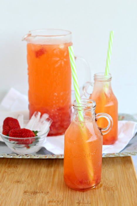 strawberry lemonade (sugar free) | berrysweetlife.com