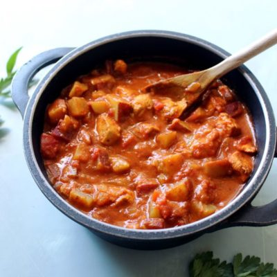 The Best Super Quick Chicken Curry With Sweet Potatoes