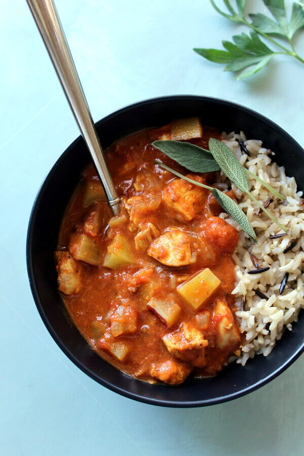 The Best Super Quick Chicken Curry With Sweet Potatoes ...