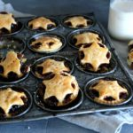 Christmas Fruit Mince Pies with Light Pastry. Sweet, spicy & rich pies with a light crunchy pastry case. This is an English Christmas recipe that is easy to make & will wow your guests! I love mince pies