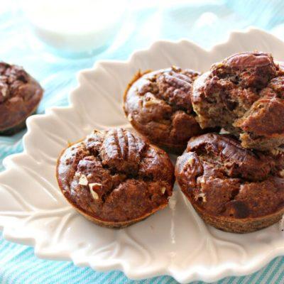 Banana Pecan & Cinnamon Muffins