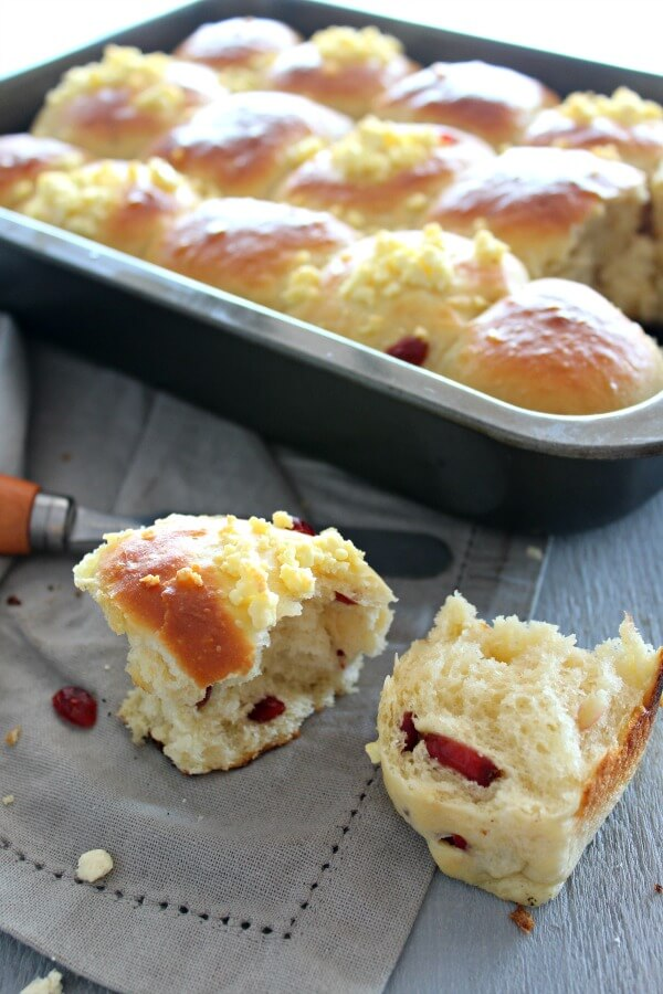 Light & Fluffy Dinner Rolls 2 Ways. An easy recipe for the lightest, fluffiest dinner rolls made 2 ways - cranberry & cheese, and classic. Your family will love these! | www.berrysweetlife.com