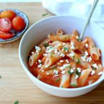 Roasted Red Pepper Garlic Pasta Sauce. The most versatile & flavoursome sauce ever! Quick & simple to make - serve it with pasta, chicken, anything!! | berrysweetlife.com