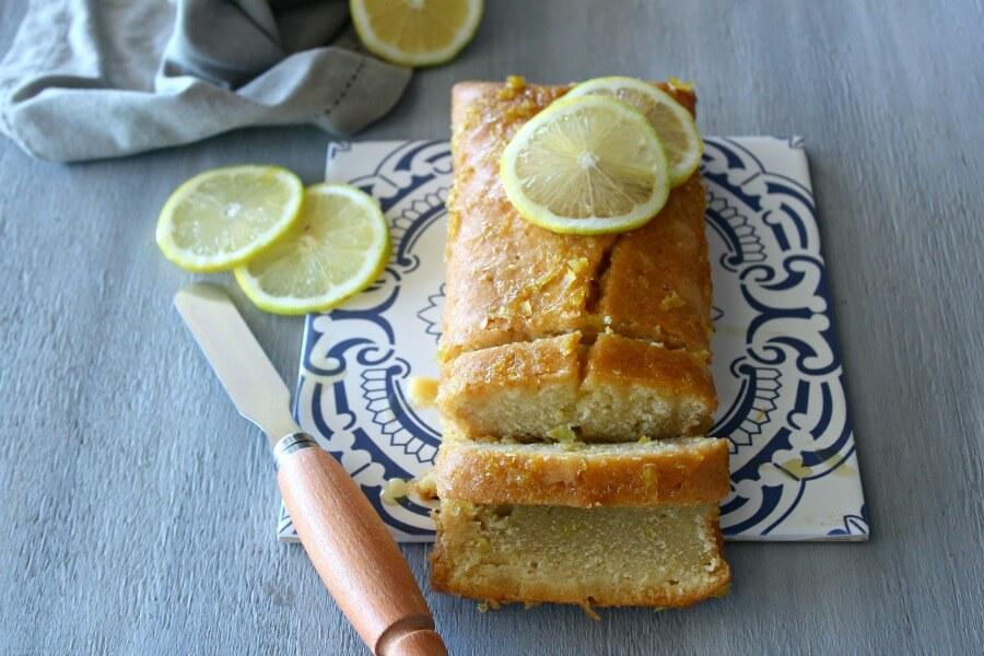 Lemon Drizzle Cake Cream Cheese Icing