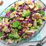 Broccoli Pineapple Pecan Pumpkin Seed Salad. A happy, healthy, spring-time salad, perfect for any occasion. Your friends & family will love this one! | berrysweetlife.com