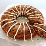 Wholewheat Pecan Date Chai Tea Ring. A healthy, sugar free, spicy & moist tea ring bread that is sweet & nutty. Everyone will adore this recipe! | berrysweetlife.com