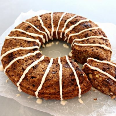 Wholewheat Pecan Date Chai-Tea Ring