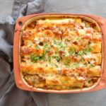 Easy Aubergine Beef Cannelloni. Tasty, comforting and full of veggies, this is a winter meal the whole family will love! | berrysweetlife.com