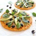 Artichoke Avo Black Olive Pizza