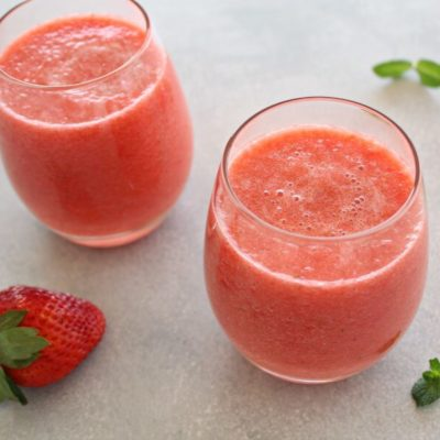 Healing Fresh Pineapple Berry Juice