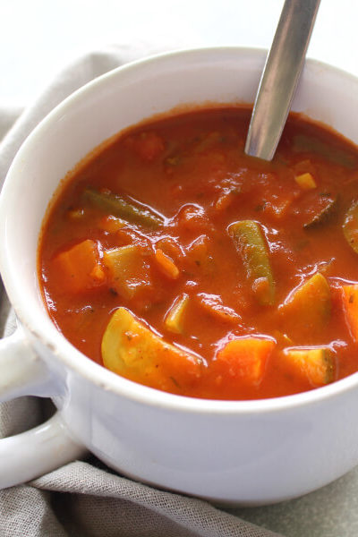 Wonderful Homemade Vegetable Soup