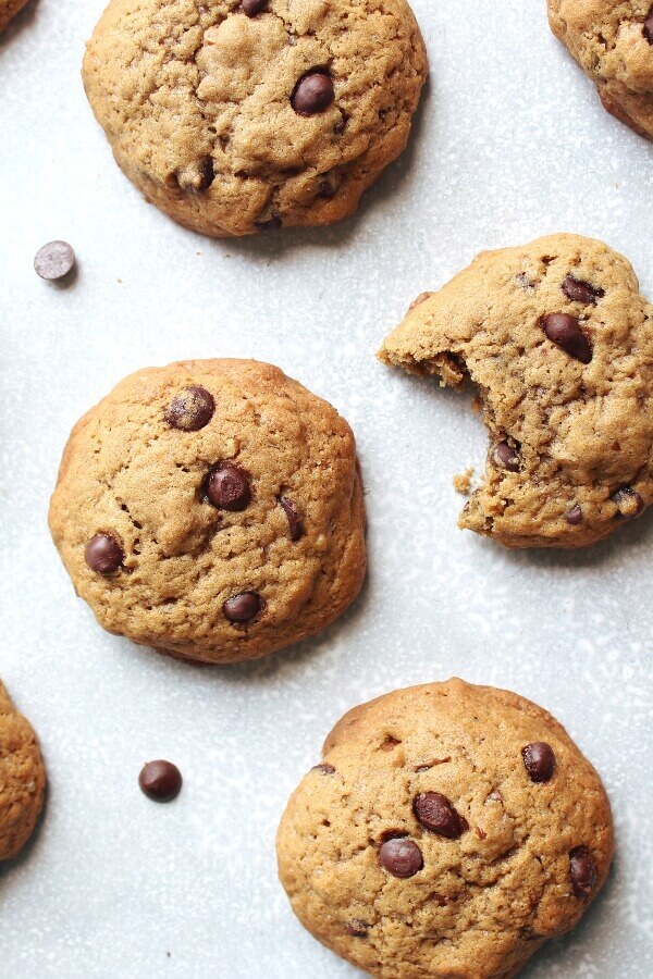 Very Buttery Chocolate Chip Cookies