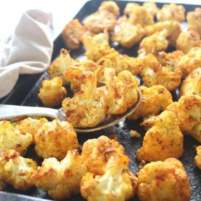 Golden Spice Roasted Cauliflower