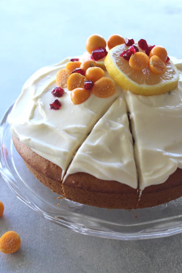 Sugar Free Lemon Olive Oil Cake Berry Sweet Life