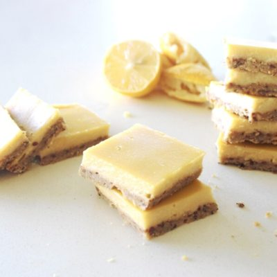 Gluten Free Lemon Bars With Crunchy Crust