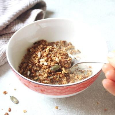 Crunchy Honey Seed Granola