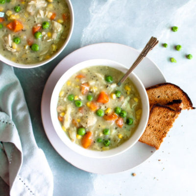 Dairy Free Cream Of Chicken Soup | berrysweetlife.com