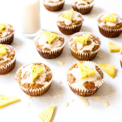 Hummingbird Cupcakes With Honey Glaze