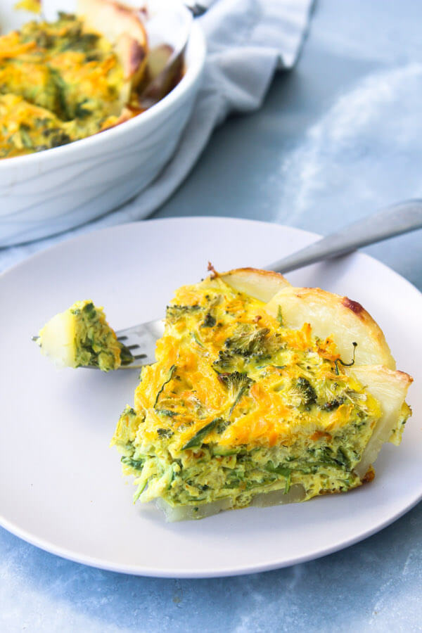 Perfect Dairy Free Veggie Quiche | berrysweetlife.com